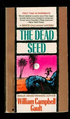 Mystery Paperback. William Campbell Gault: The Dead Seed. Charter 14151. 712204