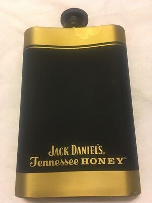New Jack Daniels Tennessee Honey Whiskey Flask Stainless Steel 4oz
