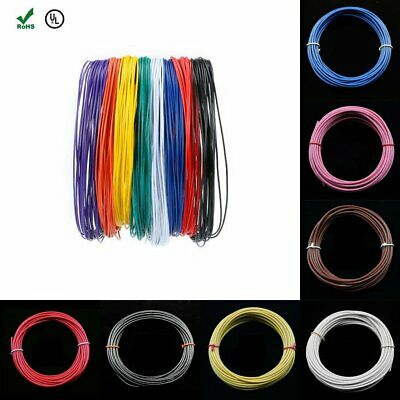 Stranded Electric Wire UL-1007 18AWG 20AWG 22AWG 26AWG 28AWG Cable Cord Hook-up