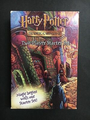 Harry Potter Trading Card Game 2 Player Starter Set From 2001