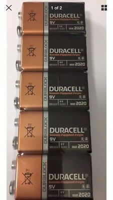 Duracell Plus MN1604 Alkaline Batteries - 9V / 6LR61 / E-Block - 10 piece