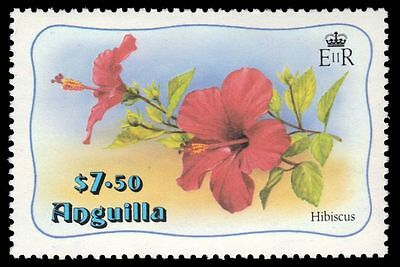 ANGUILLA 478 (SG499) - Hibiscus Flowers (pa51186)