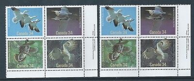 Canada #1098a LR Medium & Dull Fluorescent Paper Variety MNH **Free Shipping**