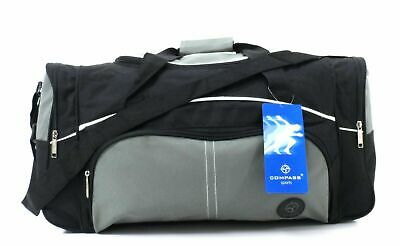 "MEDIUM 19/"" HOLDALL WEEKEND TRAVEL OVERNIGHT HOSPITAL SPORTS GYM DUFFLE BAG 39L"