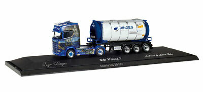 Herpa LKW Scania CS 20 HD Aerop. Tank-Cont-SZ Ingo Dinges 121811