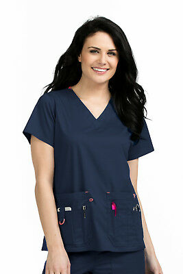 Med Couture Rescue Top 8425 Women's Scrub Top