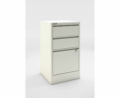 Bisley A4 3 Drawer Flush Front Stationery and Filing Cabinet