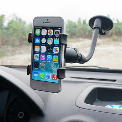 Universal 360°Rotating Car Windshield Mount Holder Stand Bracket for Phone TO