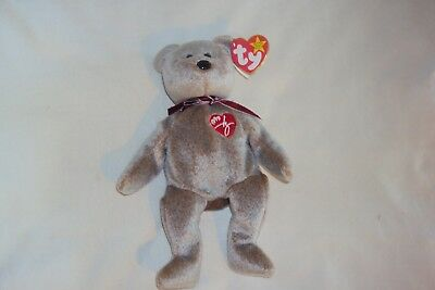 TY BEANIE BABY 1999 SIGNATURE BEAR Hang Tag Gasport Tag Error Nrmnt Cond 8.5""