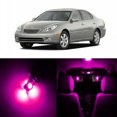 16 X Pink LED Interior Lights Package For 2002   2006 Lexus ES330 ES300 +  TOOL