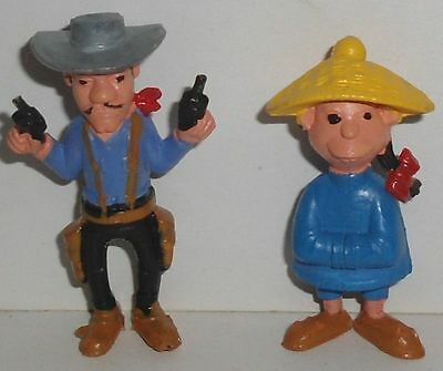 No 158 // 2 Lucky Luke Figuren