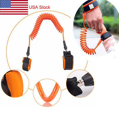 Safety Harness Leash Anti Lost Wrist Link Traction Rope For Toddler Baby Kids OR