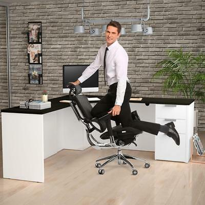 3D NEADER Reclining Executive Racing Gaming Office Chair Ergonomic Computer Desk