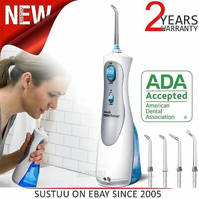 Waterpik Ultra Cordless Plus Dental Water FlosserJet│Dual Pressure Control│WP450