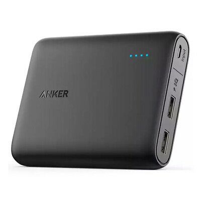 Anker 3A PowerCore 10400mah Portable Battery Power Bank Dual Usb Phone Charger