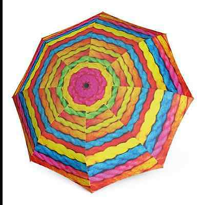 "Doppler Modern Art Auto Open & Close Magic Folding Umbrella - ""Wooly"" Print"