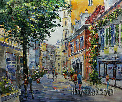 Original Modern Abstract Oil Painting Handmade knife Prague wall Art Canvas pz10