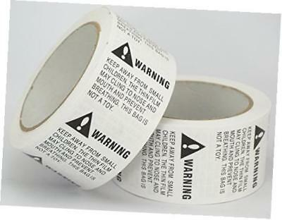 "10 rolls/5000 labels,suffocation warning,keep away from small children,2"" x 2"""