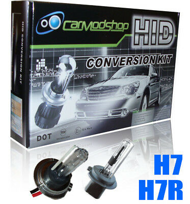 H7R H7 Full Xenon Hid Gas Discharge Conversion Kit Set Spare Part *Anti Glare*