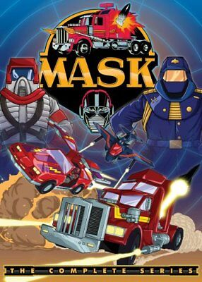 M.A.S.K. THE COMPLETE SERIES New Sealed 12 DVD Set MASK