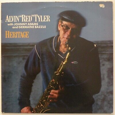 "ALVIN ""RED"" TYLER ‎– Heritage (REU 1002 ) Vinyl LP Album; UK 1985. EX/VG"
