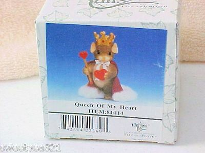 Charming Tails Queen of My Heart (Mouse) [Retired]