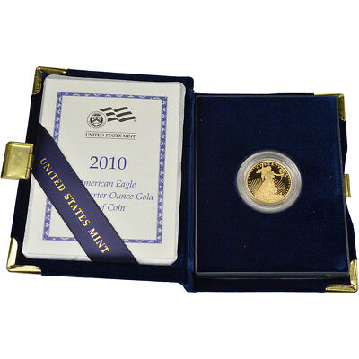 2010-W American Gold Eagle Proof (1/4 oz) $10 in OGP
