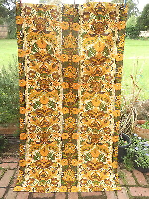 VIXEN    CURTAIN     196 cm  x 108 cm       RETRO Vintage  FABRIC