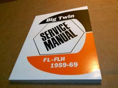 Harley fl flh service manual 1959 to 1969 panhead shovelhead service repair manual book for harley panhead shovelhead dressers sciox Gallery