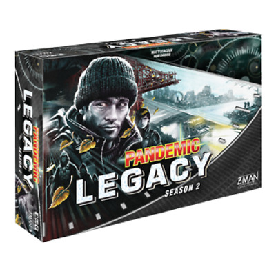 Pandemic: Legacy Season 2 - Black Board Game