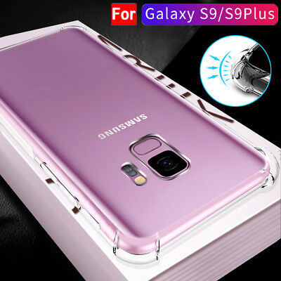 Shockproof Bumper Air Cushion Silicone Case Cover for Samsung Galaxy S9 Plus A8P