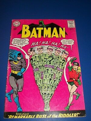 Batman #171 Silver Age 1st Silver Age Riddler Nice Huge Key Wow Solid VG+