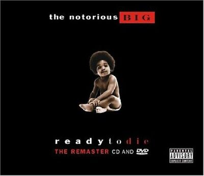 The Notorious B.I.G. Ready to Die CD New Remastered + DVD