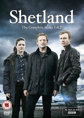 Shetland Series 1 and 2 Season One + Two Region 4 New DVD (2 Discs)