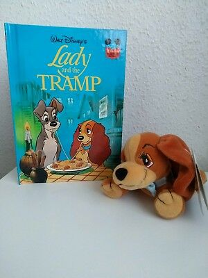 Disney lady and the tramp plush and lady and the tramp book bundle