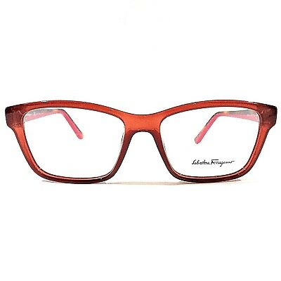 2ebddb2452 New SALVATORE FERRAGAMO Eyeglasses RX Frame SF2721 643 Antique Rose  53-16-140