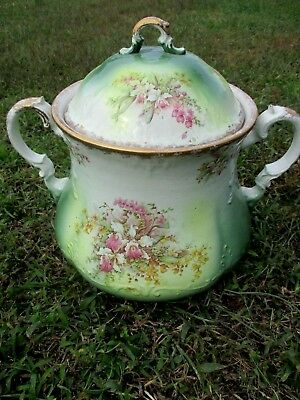 Large Antique The Colonial Co Master Slop Jar Chamber Pot