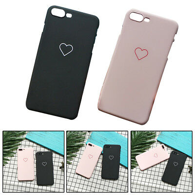 Girls Female Love Heart Soft Phone Case Cover iphone iphone6/7/X Protector 1pc