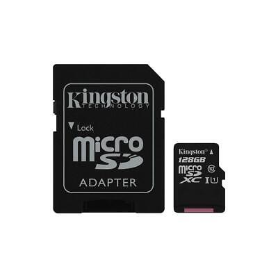Kingston Technology Canvas Select 128GB microSDXC Memory Card with SD Adapter