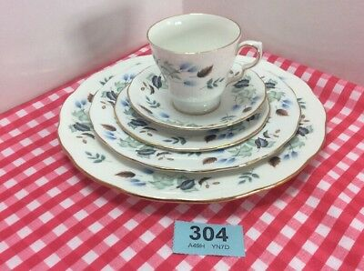5 Piece Colclough Set For One With Linden Pattern
