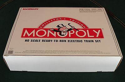 Bachmann Monopoly Collector's Edition New Ho Train Set, Factory Sealed Box