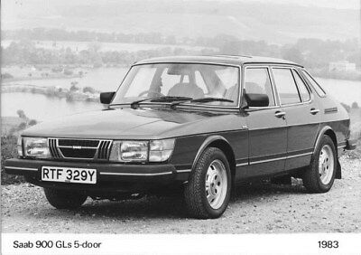 1983 Saab 900 GLs Five Door ORIGINAL Factory Photo oua2467
