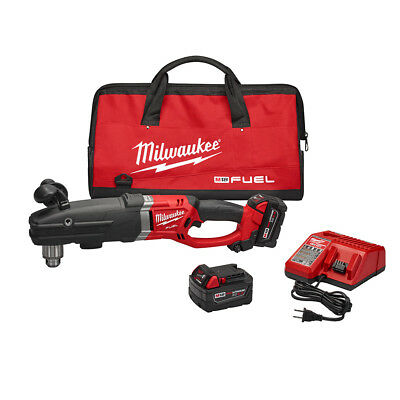 """Milwaukee 2709-22 M18 FUEL SUPER HAWG 1/2"""" Right Angle Drill Kit"""