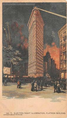 Flatiron Building New York Chicago Sunday American Newspaper Postcard (1903)