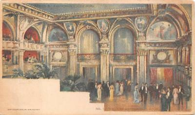 Waldorf Astoria Hotel New York Chicago Sunday American Newspaper Postcard (1903)