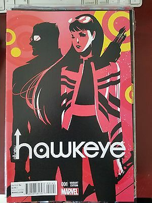 All-New Hawkeye #1 (2015) Marvel Comics 1St Print! Variant Cover Art! Nm