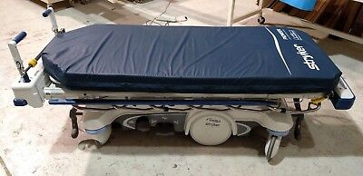 Stryker 1125 Prime Zoom Drive Patient Bed Stretcher Pioneer Mattress Year 2015