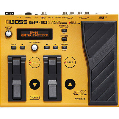 Boss GP-10 GP10 Guitar Processor without GK-3 Pickup New
