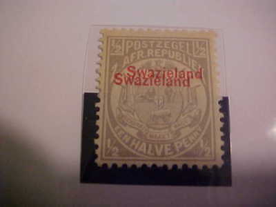 SWAZILAND #9b Never Hinged / Double overprint