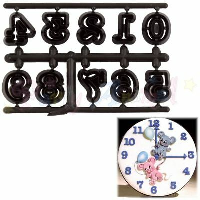 Sugarcraft Patchwork cutters- Easy Twist Numerals, numbers small
